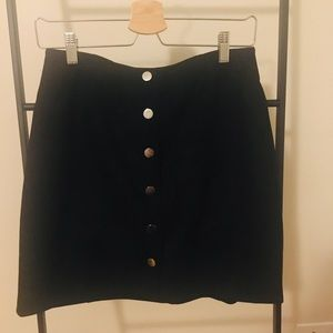 Mango Skirts - Mango faux suede mini